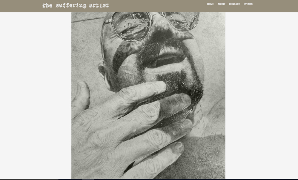 Suffering Artist website